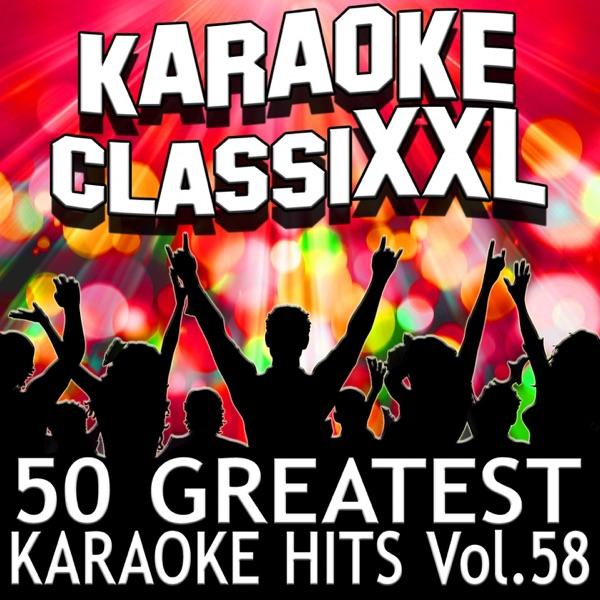 50 Greatest Karaoke Hits Vol 58 Karaoke Version Dohn Joe CD cover