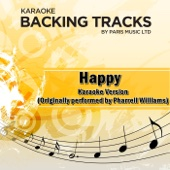 Happy (Originally Performed By Pharrell Williams) [Karaoke Version]
