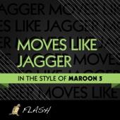 Moves Like Jagger (Originally Performed By Maroon 5) [Karaoke & Instrumental]