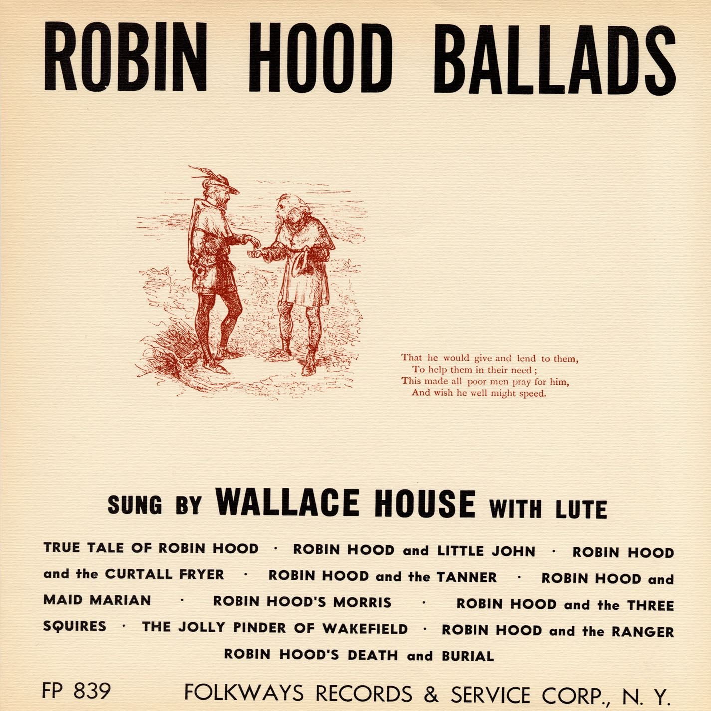 Robin hood ballads by wallace house on itunes for Whats house music