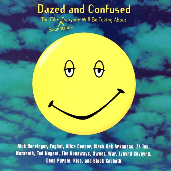 Dazed and Confused Motion Picture Soundtrack Various Artists CD cover