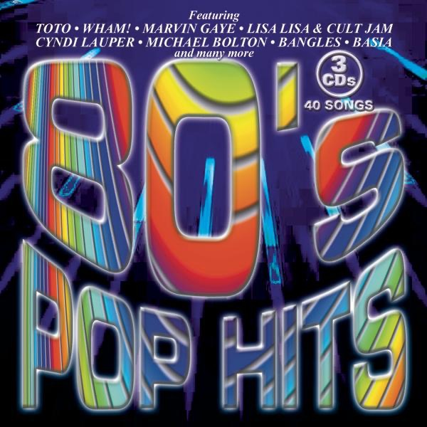 80s Pop Hits Various Artists CD cover