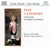 Cantiones: Latin Song in Medieval Finland