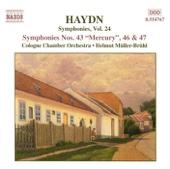 Symphony No.47, in G Major, Finale: Presto Assai - Franz Joseph Haydn