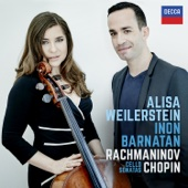 Alisa Weilerstein & Inon Barnatan - Rachmaninov & Chopin: Cello Sonatas  artwork
