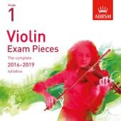 William Campbell, Lynn Carter & Stephanie Childress - Violin Exam Pieces 2016 - 2019, ABRSM Grade 1 artwork