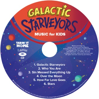 VBS 2017 Galactic Starveyors Music for Kids – EP – LifeWay Kids Worship