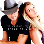 Tim McGraw & Faith Hill - Speak to a Girl  artwork