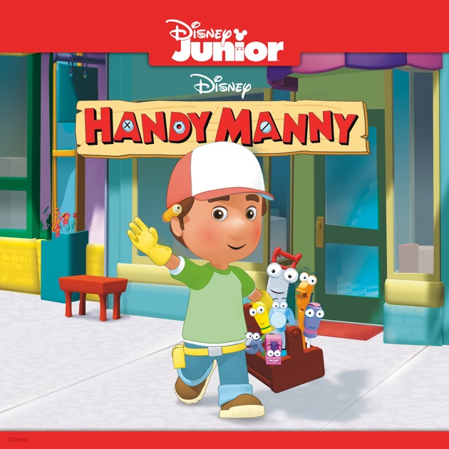 It's just a graphic of Nerdy Handy Manny Images