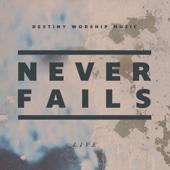 Never Fails (Live) - Destiny Worship Music Cover Art