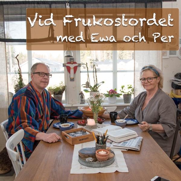 Vid Frukostordet med Ewa och Per