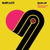 Run Up (feat. PARTYNEXTDOOR & Nicki Minaj) - Major Lazer Cover Art