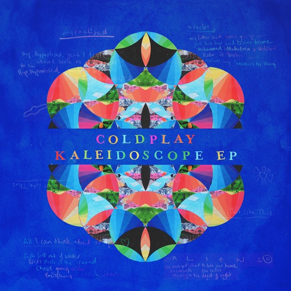 Kaleidoscope EP Coldplay CD cover