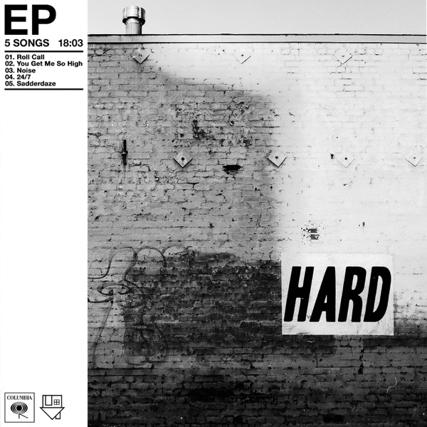 Hard - EP The Neighbourhood CD cover