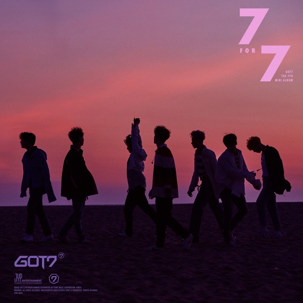 7 for 7 GOT7 CD cover