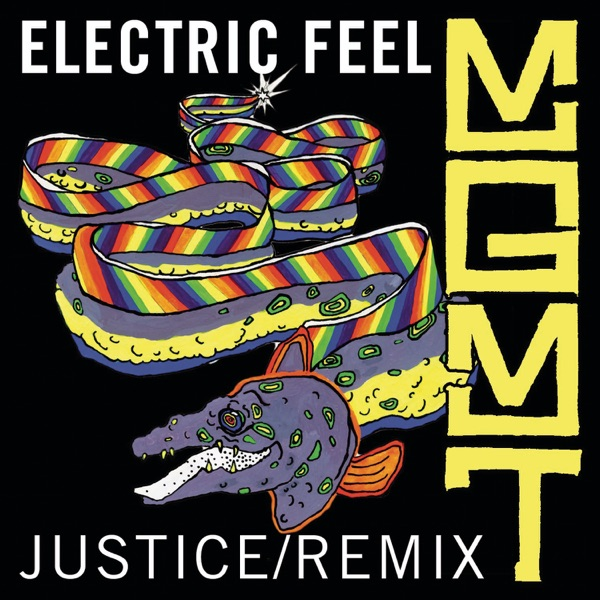 Electric Feel Justice Remix - Single MGMT CD cover