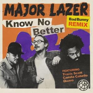 Major Lazer Travis Scott Camila Cabello Quavo - Know No Better (feat. Quavo)