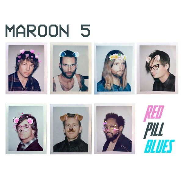 Red Pill Blues Maroon 5 CD cover