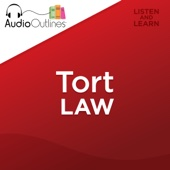Tort Law Outline: Developed for Law School Exams and the Multistate Bar (Unabridged) - AudioOutlines Cover Art