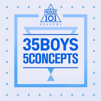 Produce 101 – 35 Boys 5 Concepts – EP – PRODUCE 101