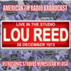 Live in the Studio - Ultrasonic Studios 1972, Lou Reed