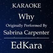 Why (Originally Performed by Sabrina Carpenter) [Karaoke No Guide Melody Version]