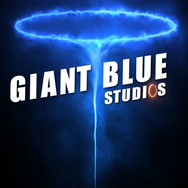 Giant Blue Sky Portal