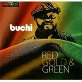 Buchi - Red Gold & Green artwork