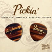 Tommy Emmanuel & David Grisman - Pickin'  artwork