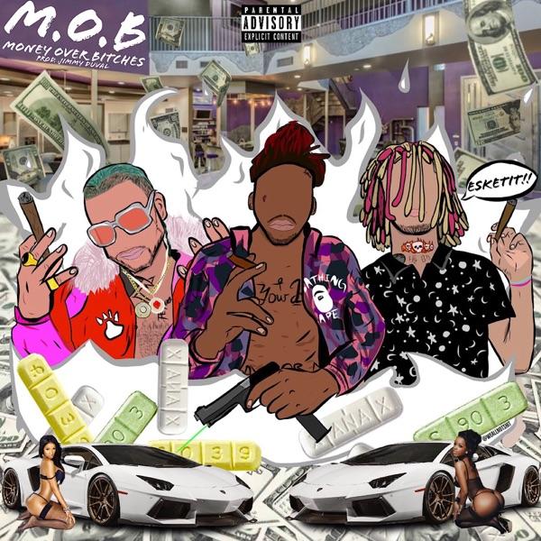MOB feat Lil Pump  Riff Raff - Single Splash Zanotti CD cover