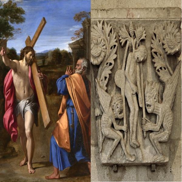 Père Marie Dominique Molinié op - L'humilité: la trahison de Pierre et celle de Judas