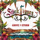 Above the Storm-Stick Figure