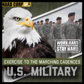 Exercise to the Marching Cadences U.S. Military