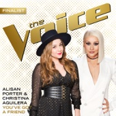 Alisan Porter & Christina Aguilera - You've Got a Friend (The Voice Performance) artwork
