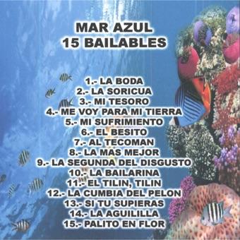 15 Bailables – Mar Azul