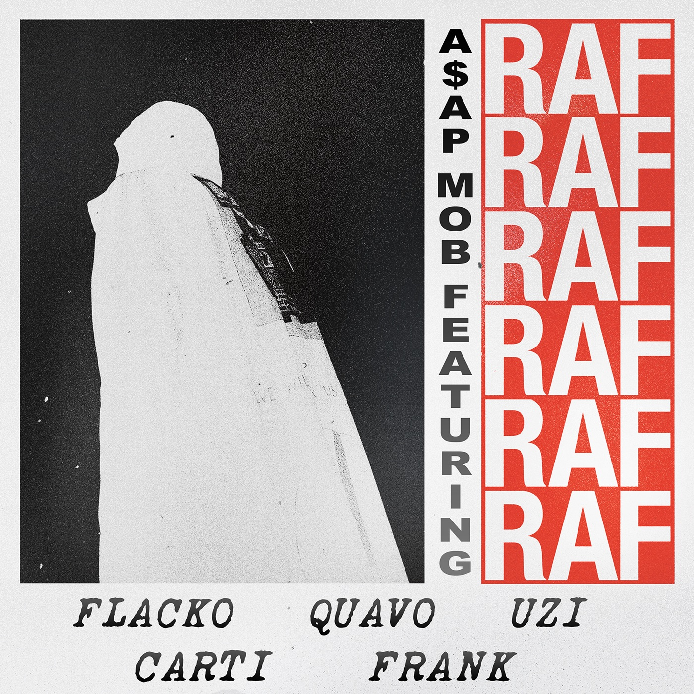 A$AP Mob - Raf (feat. A$AP Rocky, Playboi Carti, Quavo, Lil Uzi Vert & Frank Ocean) - Single Cover