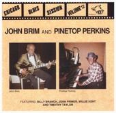 John Brim & Pinetop Perkins - Movin' Out artwork