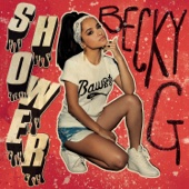 Becky G. - Shower artwork