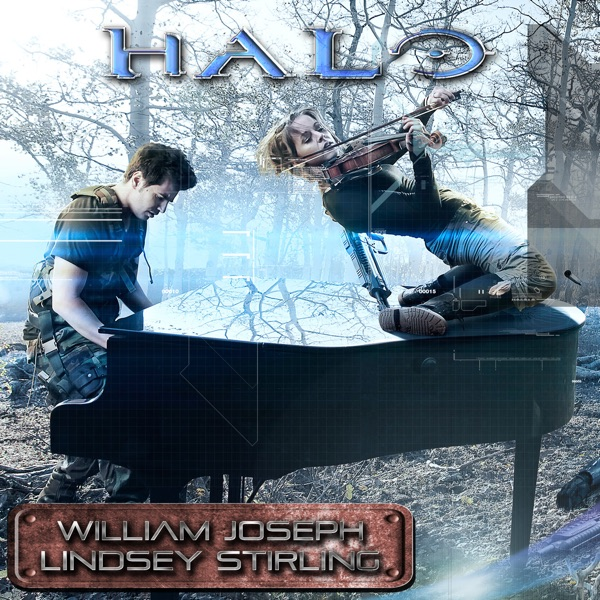 Halo Theme Song - Single William Joseph  Lindsey Stirling CD cover