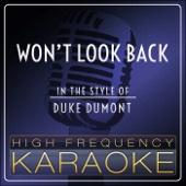 Won't Look Back (Karaoke Version)