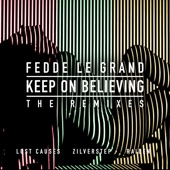 Keep on Believing (The Remixes) - Single cover art