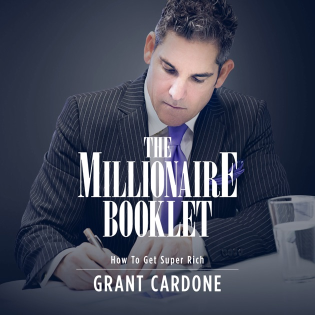 Booklet cover featuring the author Cardone