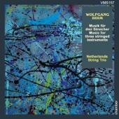 Rihm: Music for Three Stringed Instruments - Josje Ter Haar, Susanna van Els & Job Ter Haar