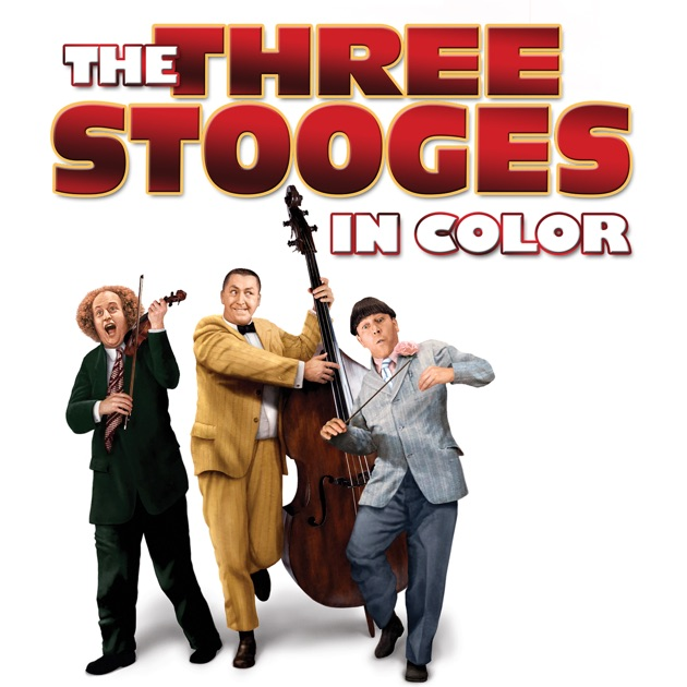 Best of the three stooges in color on itunes for The three stooges coloring pages