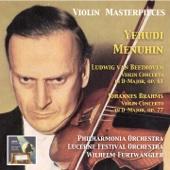 Violin Masterpieces: Yehudi Menuhin Plays Beethoven & Brahms