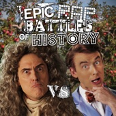 Sir Isaac Newton vs Bill Nye - Single cover art