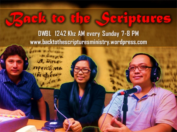 Back to the Scriptures Ministry