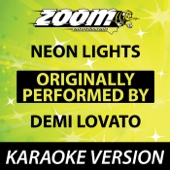 Neon Lights [Karaoke Version]