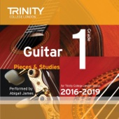 Trinity College London Guitar Grade 1 2016-2019