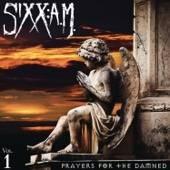 Sixx:A.M. - Prayers for the Damned  artwork